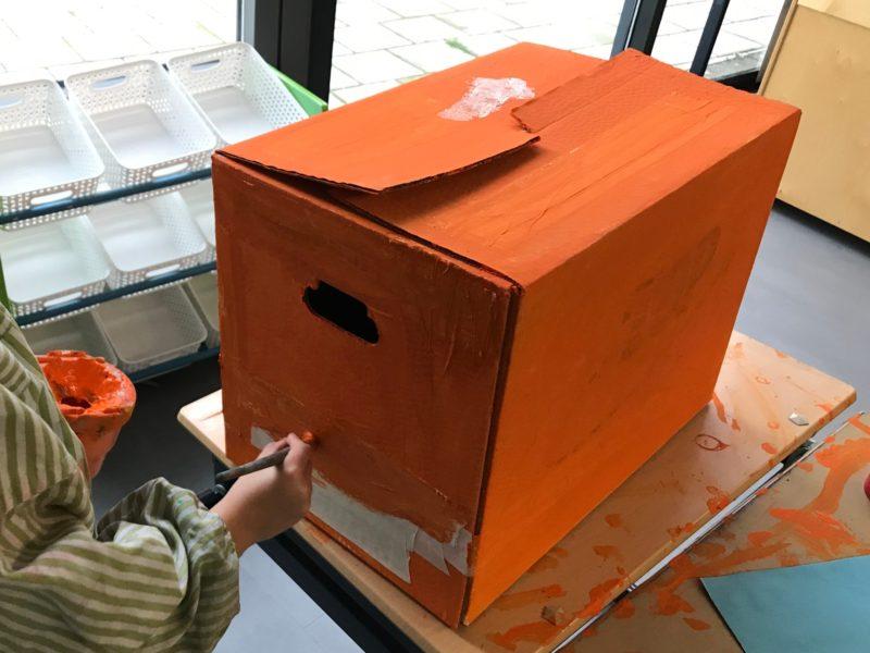 Postkantoor-inrichten